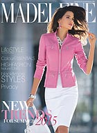 Каталог Madeleine New Trends модного сезона весна-лето 2015.     www.madeleine.de